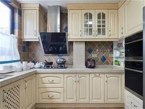 简约美式 美式 三居 白领 收纳 小资 厨房图片来自高度国际姚吉智在135平米美式雅致轻轻触动你心弦的分享
