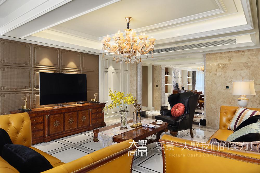四居 新古典风 客厅图片来自大墅尚品-由伟壮设计在欧式古典四居·美得很彻底的分享