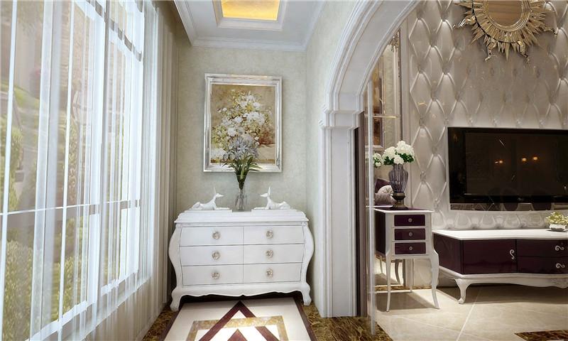 龙发装饰 珑著 三居 简约欧式 欧式 客厅图片来自龙发装饰天津公司在珑著160平米简欧风格的分享