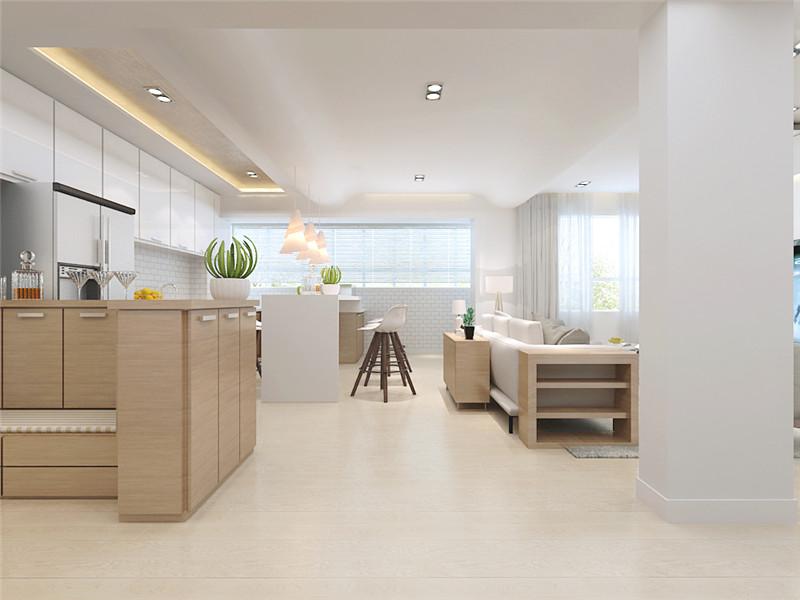 龙发装饰 聚鑫园 平层 现代 简约 客厅图片来自龙发装饰天津公司在聚鑫园130平米现代简约风格的分享