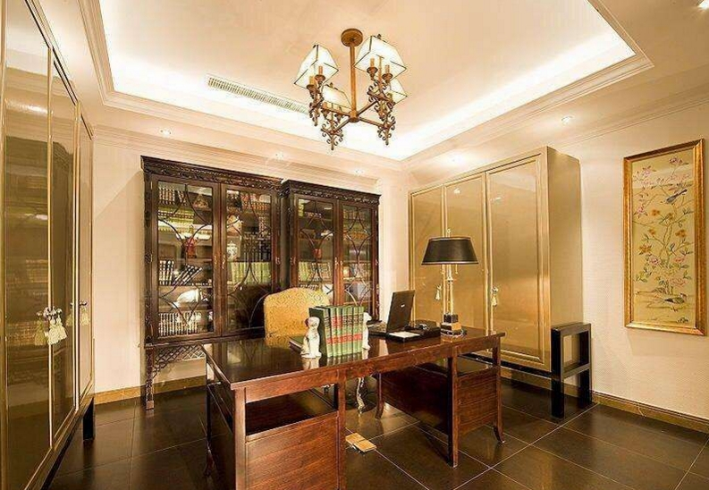 别墅 书房图片来自尚筑装饰在双流牧马山欧式风格的分享