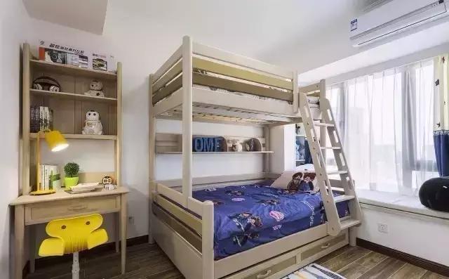 儿童房图片来自家居装饰-赫拉在兰州实创装饰118㎡现代风实景的分享