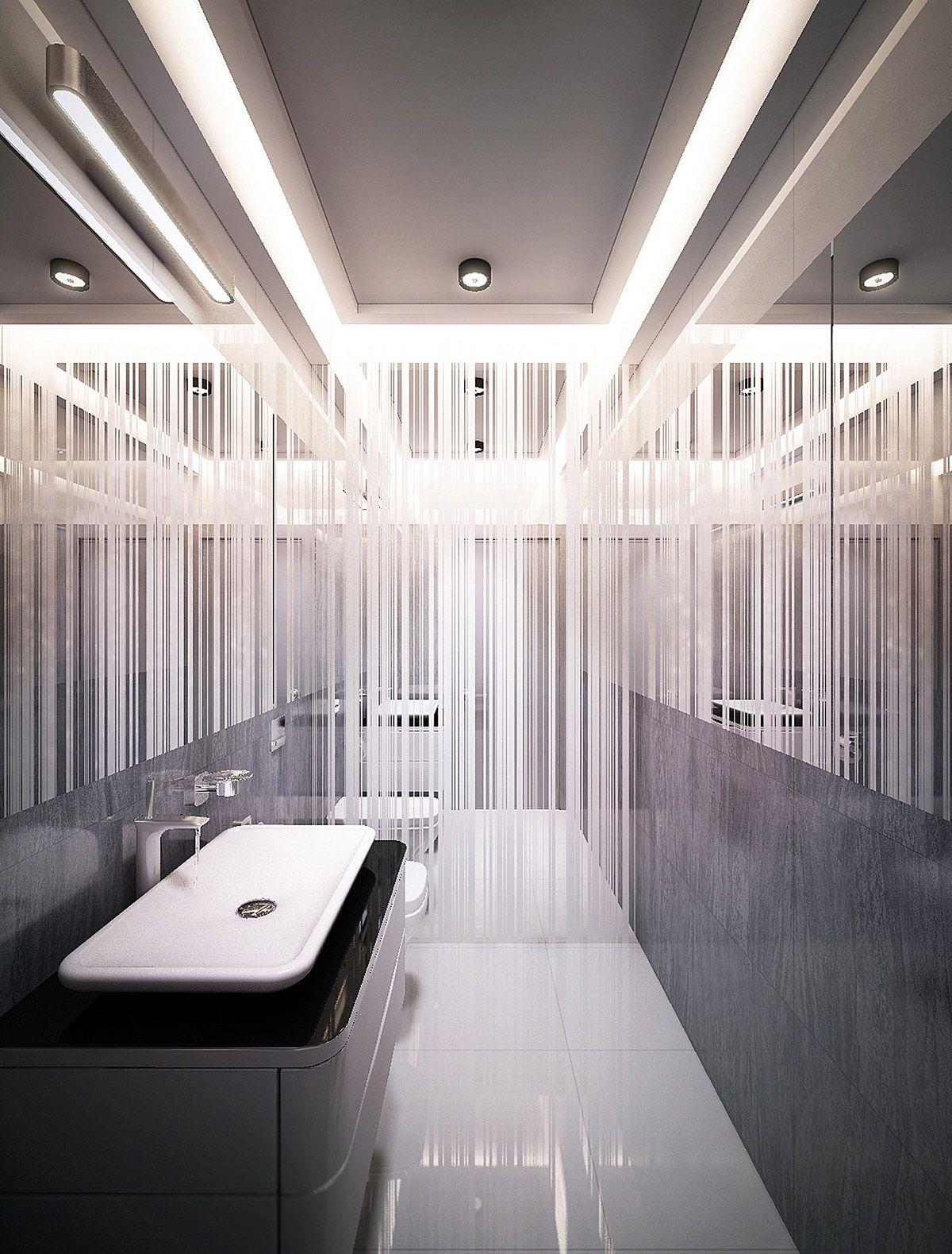 简约 卫生间图片来自别墅设计师杨洋在精致现代风格设计的分享