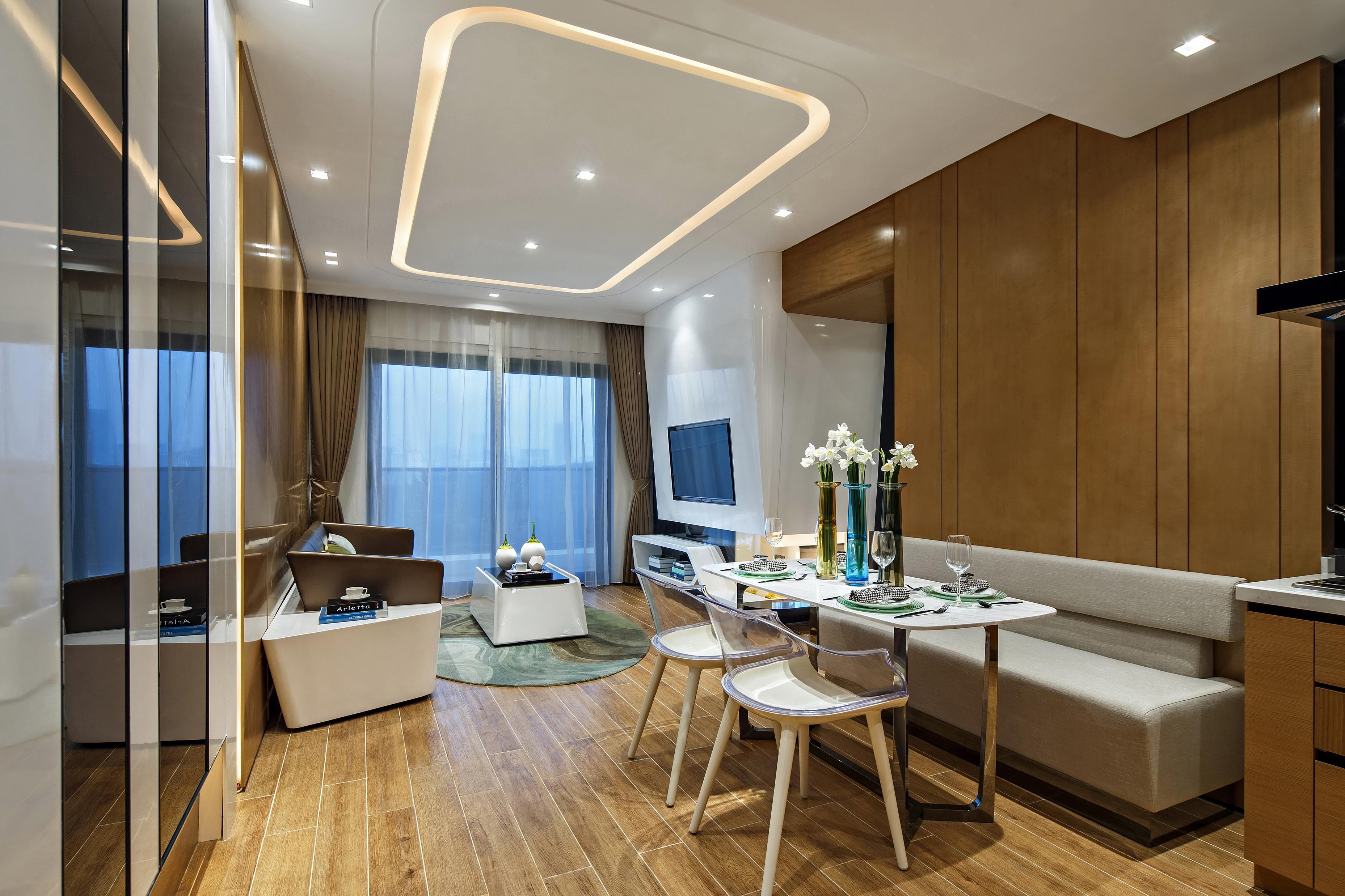 现代   时尚个性   简约  餐厅图片来自DHA香港洪德成设计有限公司在洪德成设计-深圳前海东岸样板房1的分享