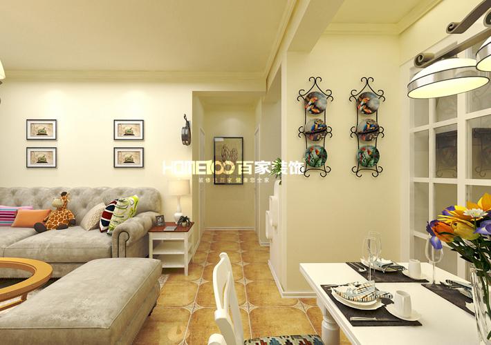 田园 二居图片来自百家装饰小西在昆山豪庭92平田园风格的分享