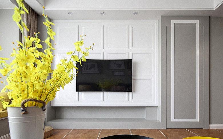 客厅图片来自家装大管家在82平混搭宁静空间 大家都说惊艳的分享