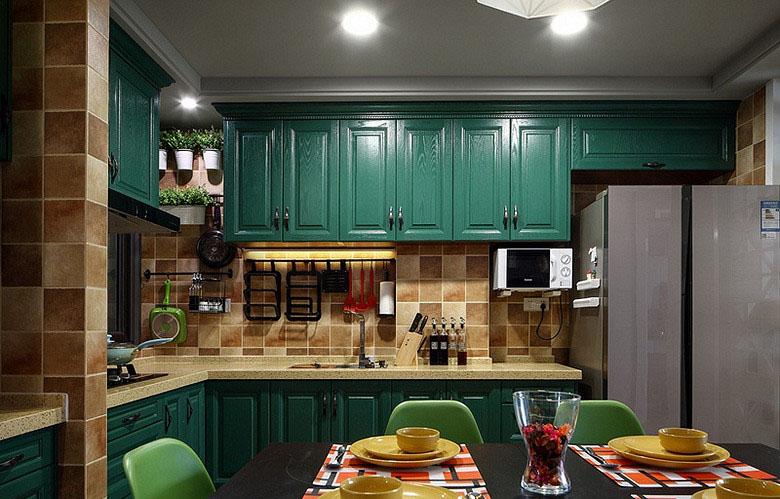厨房图片来自家装大管家在82平混搭宁静空间 大家都说惊艳的分享