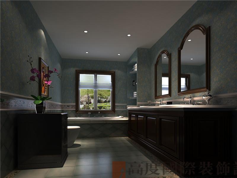 别墅 欧式 白领 田园 80后 卫生间图片来自北京高度国际装饰在潮白河孔雀城270托斯卡纳的分享