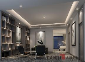 简约 现代 别墅 白领 小资 书房图片来自名雕丹迪在深圳盐田爱琴湾660平米的分享