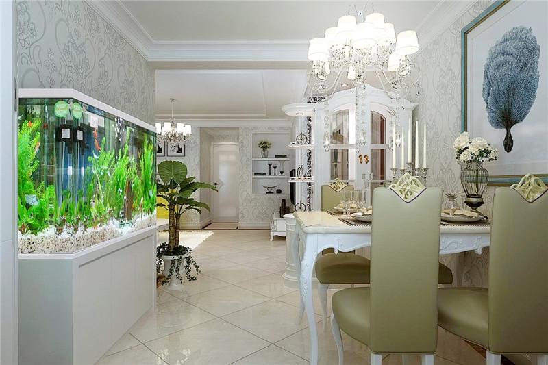 龙发装饰 广泰园 二手房 二居 室内装修 餐厅图片来自龙发装饰天津公司在广泰园100平米现代欧式风格的分享