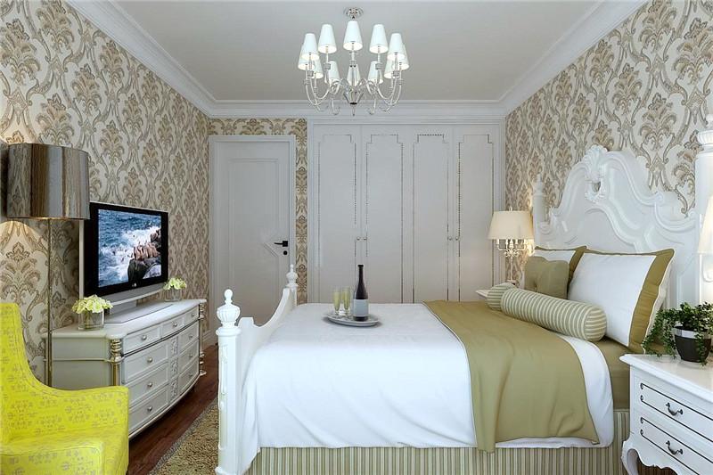 龙发装饰 广泰园 二手房 二居 室内装修 卧室图片来自龙发装饰天津公司在广泰园100平米现代欧式风格的分享