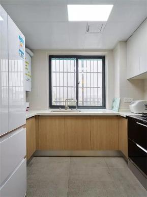 北欧 三居 白领 80后 小资 厨房图片来自高度国际姚吉智在120平米时尚北欧三居清爽有活力的分享