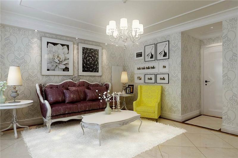 龙发装饰 广泰园 二手房 二居 室内装修 客厅图片来自龙发装饰天津公司在广泰园100平米现代欧式风格的分享