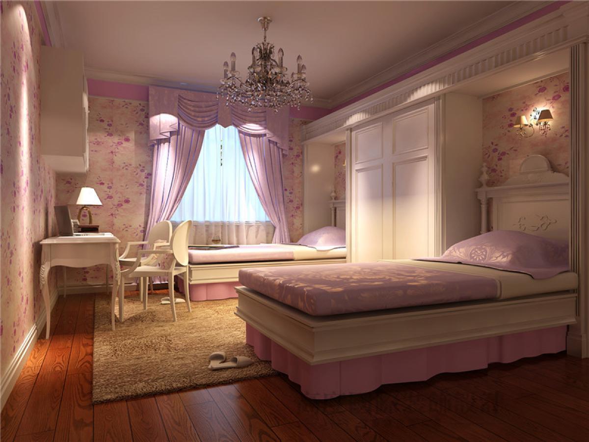 卧室图片来自重庆装修优家馆装饰官网在古典风格装饰设计的分享