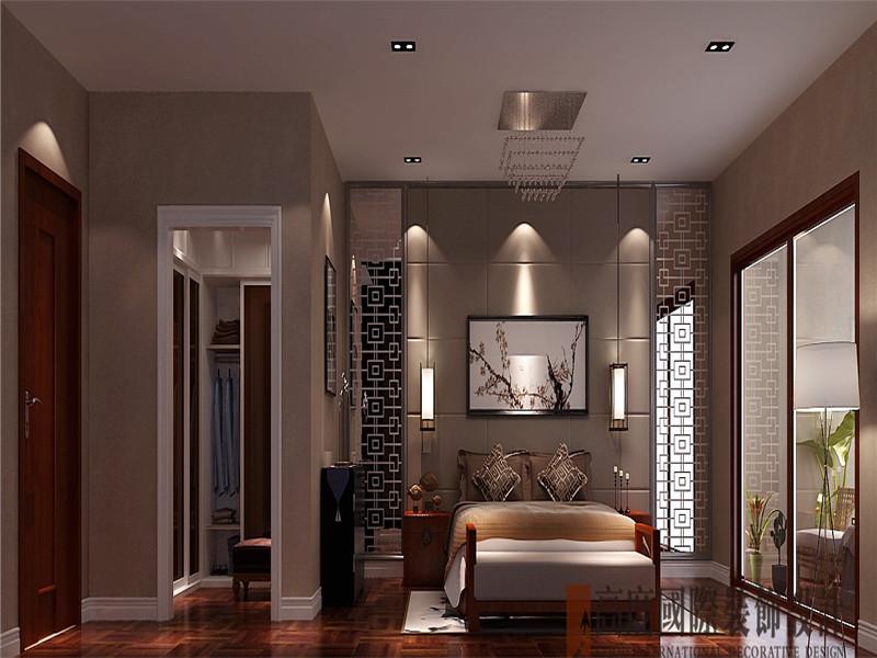 简约 现代 别墅 收纳 80后 卧室图片来自北京高度国际装饰在香溪渡325㎡现代简约的分享