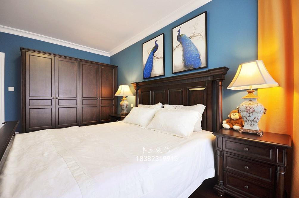 三居 80后 小资 白领 美式 卧室图片来自成都丰立装饰工程公司在美式三居室的分享