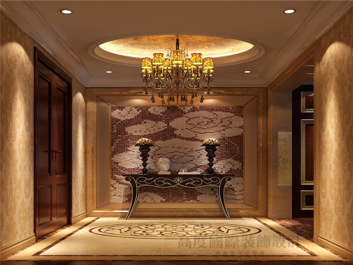 别墅 客厅 卧室图片来自重庆装修优家馆装饰官网在古典风格装饰设计的分享