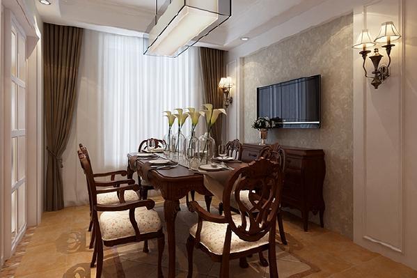 餐边柜有效增加收纳空间的同时,也能装饰用餐环境。在柔和的灯光下与家人共享晚餐,想必也是最浪漫不过的事了。