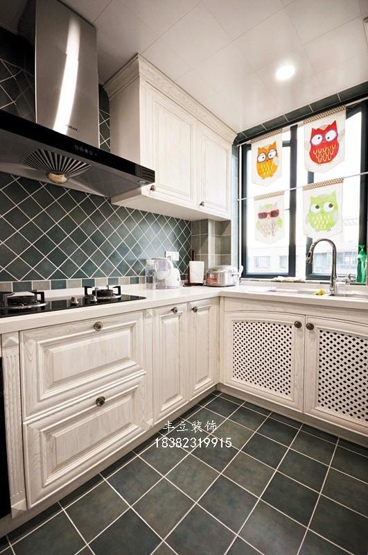 三居 80后 小资 白领 厨房图片来自成都丰立装饰工程公司在美式三居室的分享