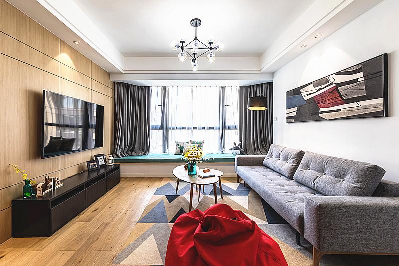 简约 二居 白领 收纳 小资 北欧 客厅图片来自中博装饰在春和钱塘89方VS大宅的北欧风情的分享