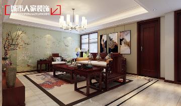 古风•丽华苑140平米中式设计