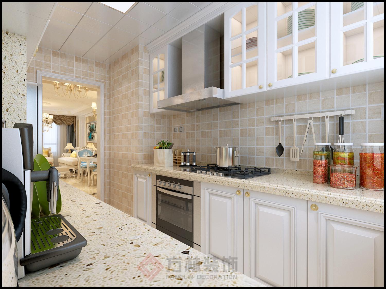 欧式 二居 白领 收纳 80后 小资 其仕郡 厨房图片来自方林装饰在沈阳其仕郡95平简欧装修方林装饰的分享