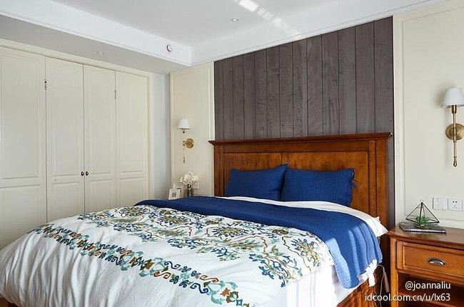 混搭风格 精装房 北京 公寓 新古典美式 卧室图片来自北京紫禁尚品装饰刘霞在大西洋新城混搭风格装修作品的分享