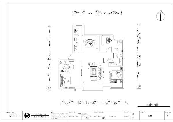 本案为三室两厅的住宅室内户型,总面积120㎡,设计风格为北欧风格。本户型是南北通透,户型中户。通透,室内通风理想。整体平面比较规整,有利于内部分割,面积利用率高。本户型是双向