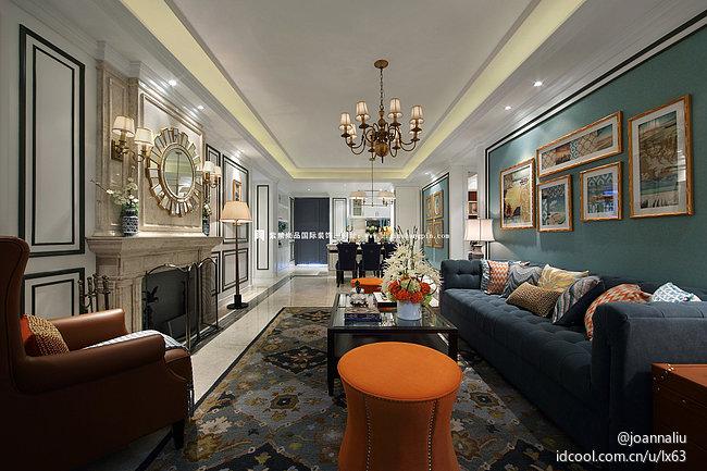 北京公寓 软装 常楹公元 欧式古典风 客厅图片来自北京紫禁尚品装饰刘霞在常楹公元古典欧式风格软装作品的分享