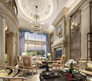 美式风格700㎡半山半海别墅