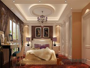 混搭 别墅 高帅富 小资 白富美 卧室图片来自高度国际姚吉智在280平米混搭风格别墅美到极致的分享