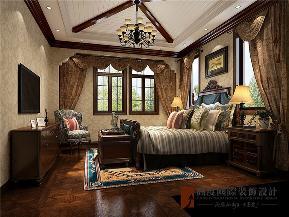 美式 别墅 高帅富 小资 白富美 卧室图片来自高度国际姚吉智在600平米美式独栋别墅忠于品位的分享