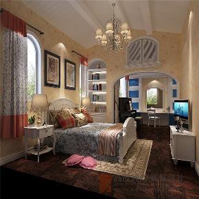 美式 别墅 高帅富 小资 白富美 儿童房图片来自高度国际姚吉智在600平米美式独栋别墅忠于品位的分享