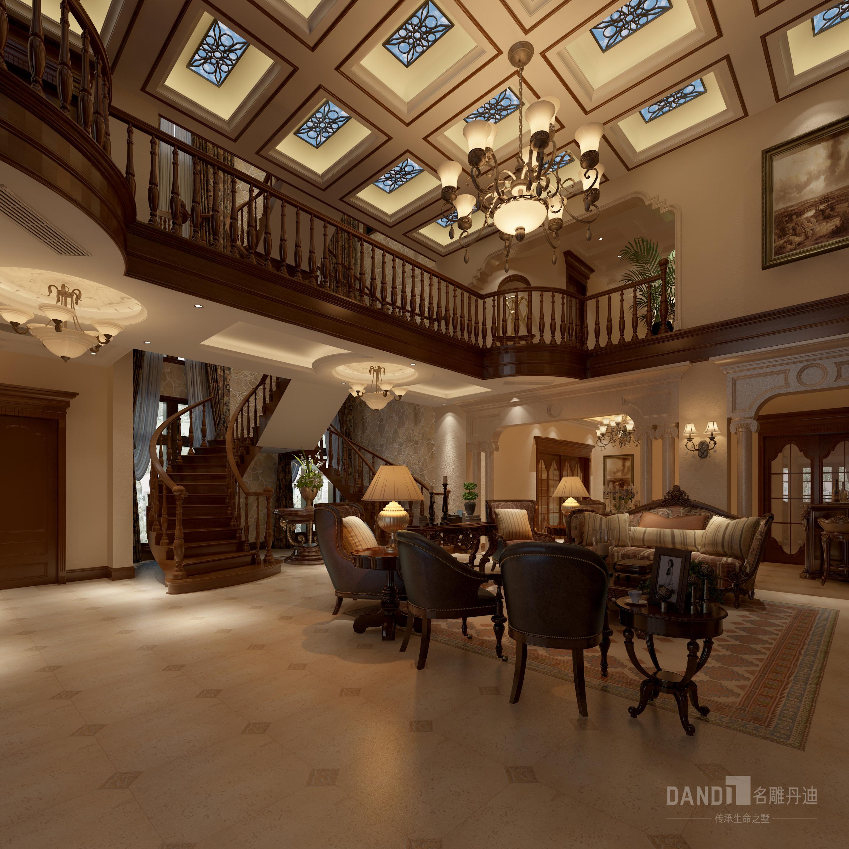 客厅图片来自在万科璞悦山新古典风格装修的分享