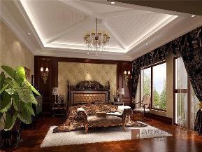 欧式 别墅 小资 高帅富 白富美 卧室图片来自高度国际姚吉智在420平米欧式独栋别墅极致的奢华的分享
