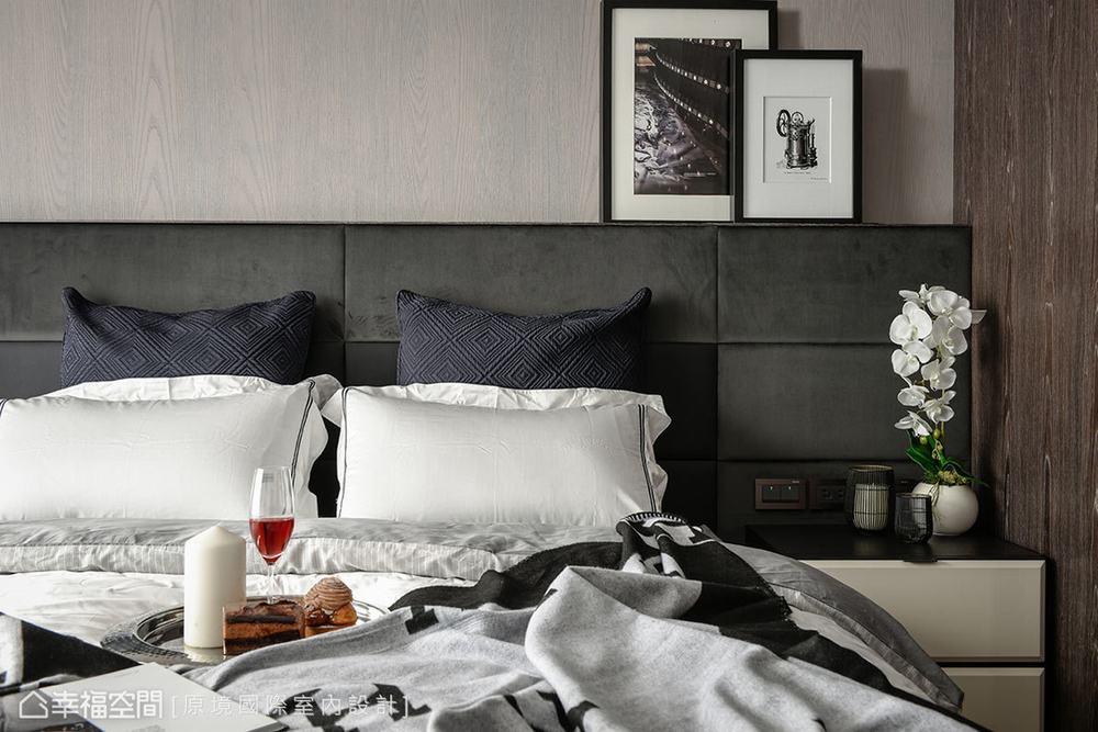 现代 三居 卧室图片来自幸福空间在共享空间 沉浸122平自然人文之境的分享