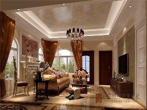 欧式 别墅 小资 高帅富 白富美 客厅图片来自高度国际姚吉智在420平米欧式独栋别墅极致的奢华的分享