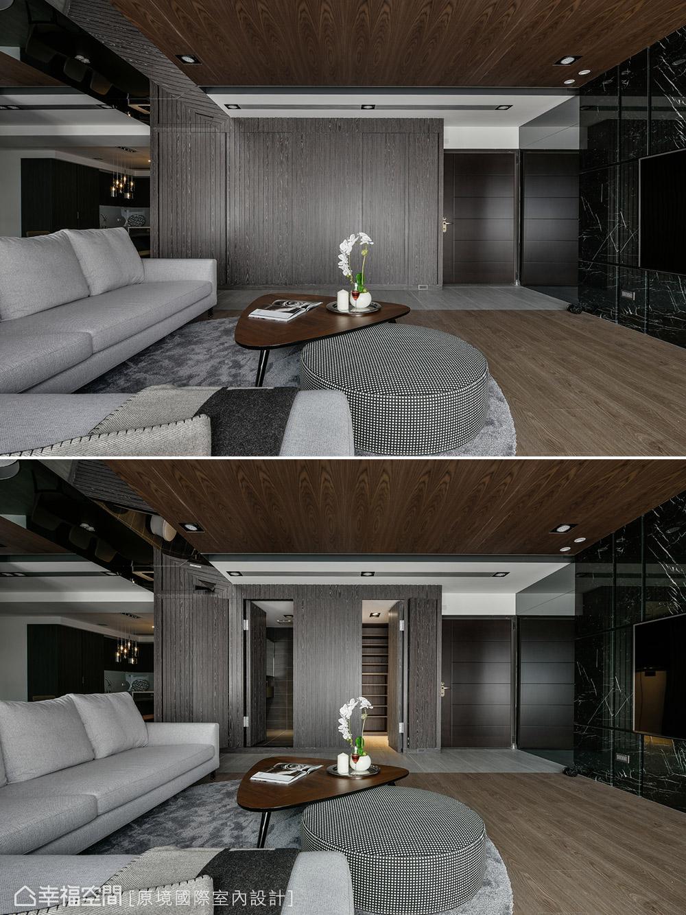 现代 三居 客厅图片来自幸福空间在共享空间 沉浸122平自然人文之境的分享