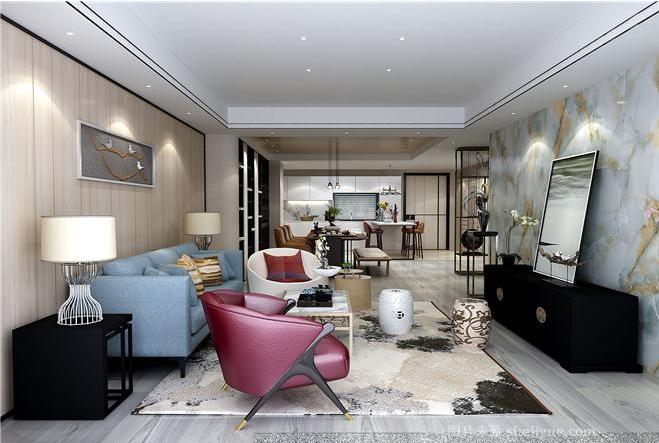 北京 公寓装修 新古典风格 毛坯 白领 客厅图片来自北京紫禁尚品装饰刘霞在福景苑 200平公寓样板房设计作品的分享