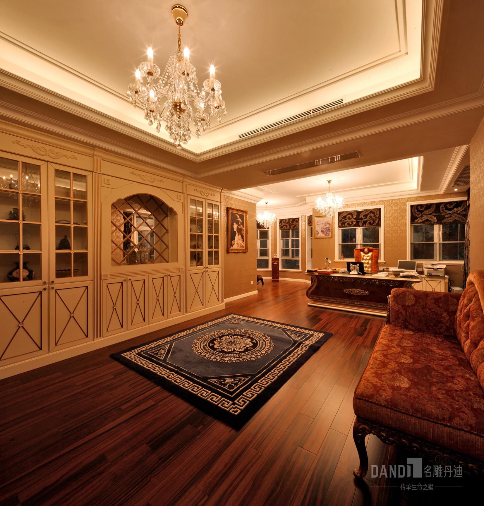 简约 别墅 小资 书房图片来自名雕丹迪在齐明别墅装修案例的分享