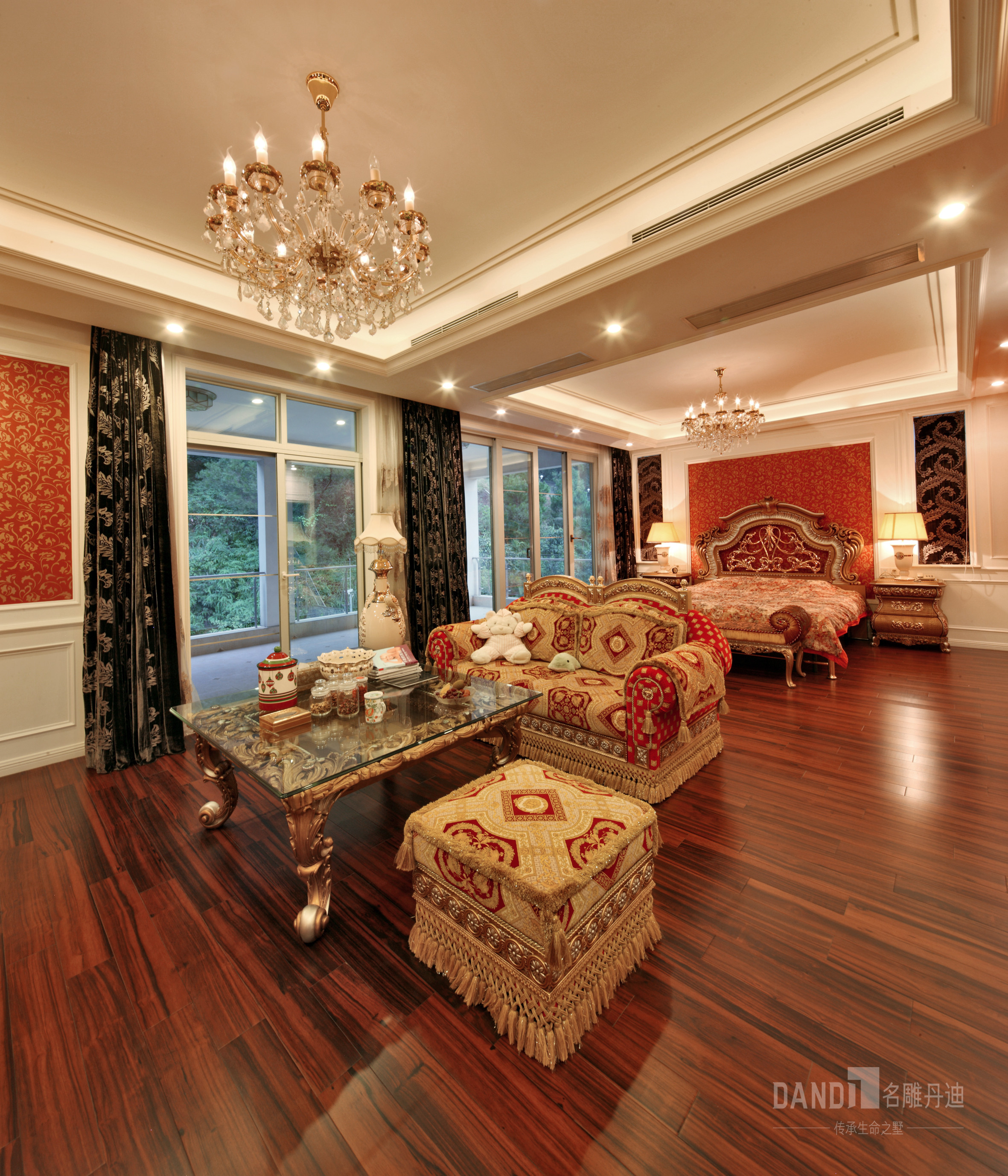 简约 别墅 小资 客厅图片来自名雕丹迪在齐明别墅装修案例的分享