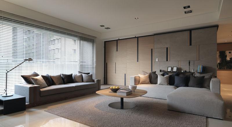 客厅图片来自广州九艺(三星)装饰设计在柏丽星寓刘总雅居的分享