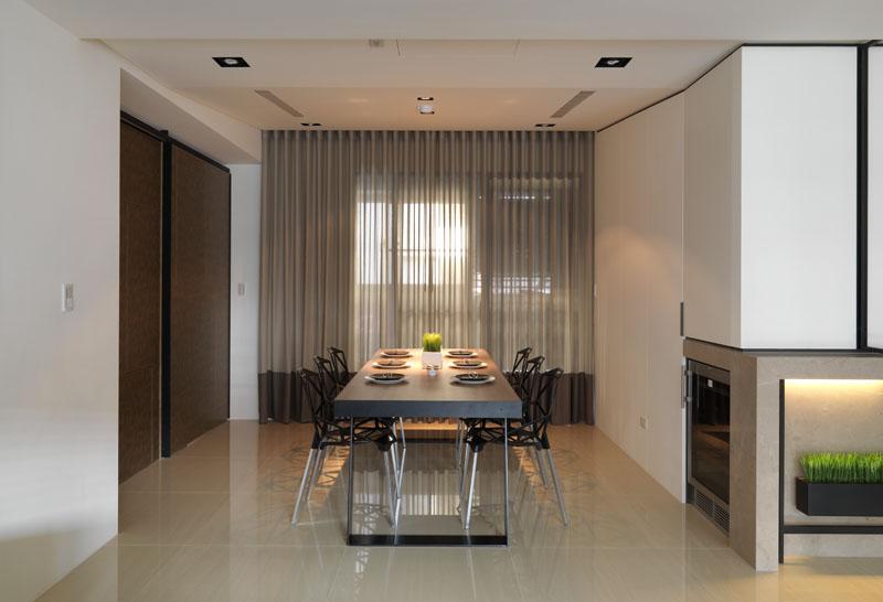 餐厅图片来自广州九艺(三星)装饰设计在柏丽星寓刘总雅居的分享