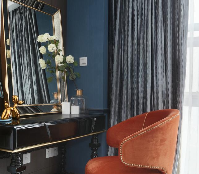 北京 公寓装修 现代风格 装修 设计 卧室图片来自北京紫禁尚品装饰刘霞在公寓跃层现代风格装修作品的分享