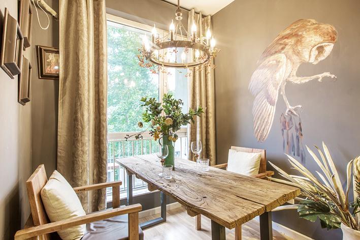 客厅 卧室 餐厅 旧房改造 80后 小资图片来自iHome短住公寓在插画师精品一居的分享