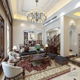 400方排屋别墅筑造美式风格