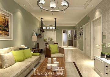 龙湖唐宁ONE99平美式风格