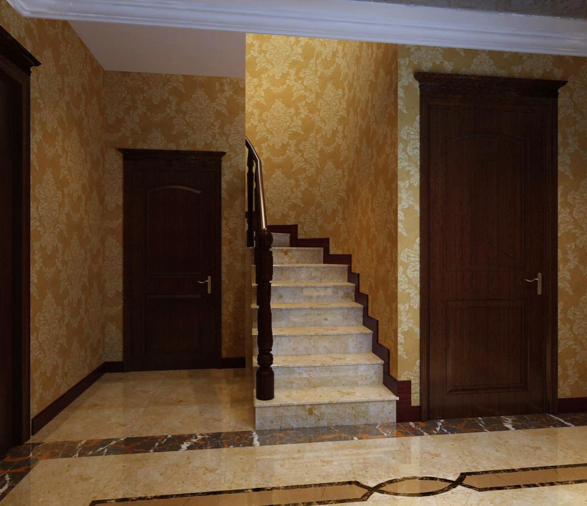 楼梯图片来自天津生活家健康整体家装在国耀紫溪-别墅欧式风格设计案例的分享