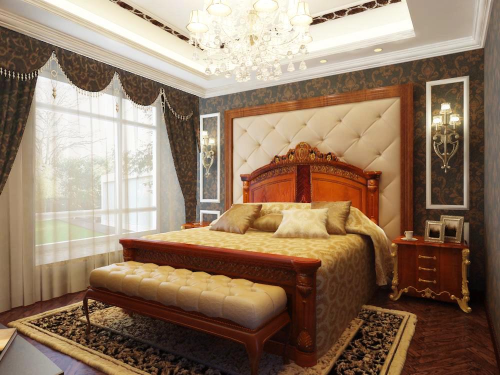 卧室图片来自天津生活家健康整体家装在国耀紫溪-别墅欧式风格设计案例的分享