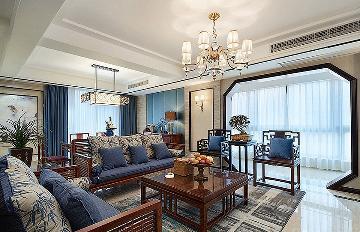 温馨+舒适 135平中式混搭3居室
